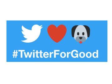 'Twitter For Good', una iniciativa que convierte un tuit en un día de alimento para un animal abandonado