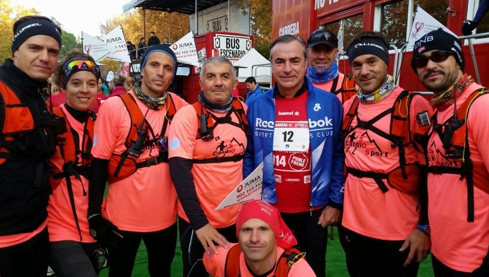 SOScardiosport en una Carrera Ponle Freno
