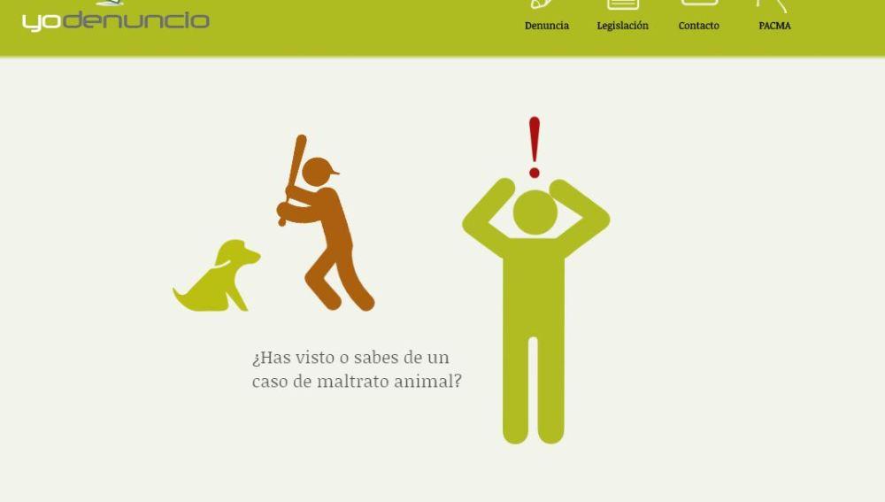 'Yo Denuncio', la primera web para denuncias de maltrato animal