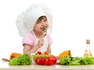 Ideas para que los niños coman verduras