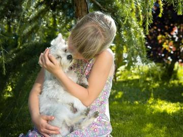 Las mascotas ayudan a los niños en el proceso de maduración