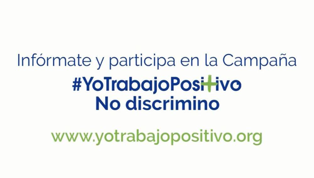#YoTrabajoPositivo, una campaña contra la discriminación laboral de las personas con VIH