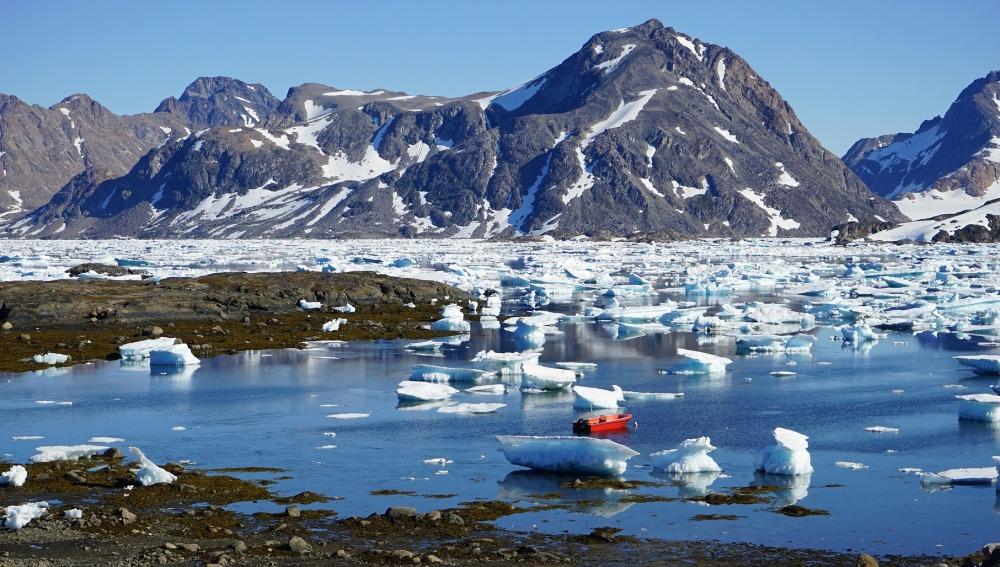 Dos nuevos estudios ofrecen datos sobre la estabilidad del hielo en Groenlandia