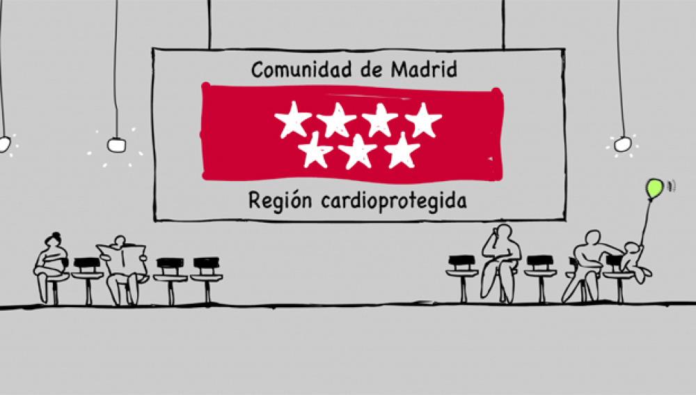 Comunidad de Madrid, región cardioprotegida