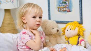 Trucos para aliviar el dolor de garganta de los niños