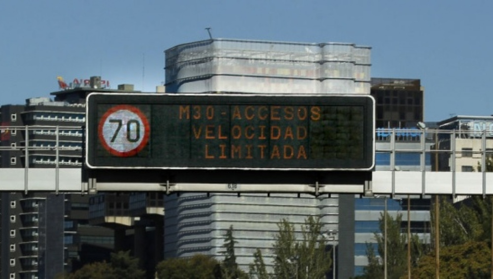 Los coches con matricula par no podrán acceder mañana a Madrid