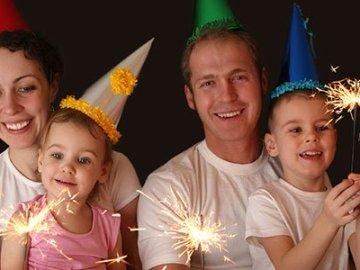 Diez propósitos para toda la familia en Año Nuevo