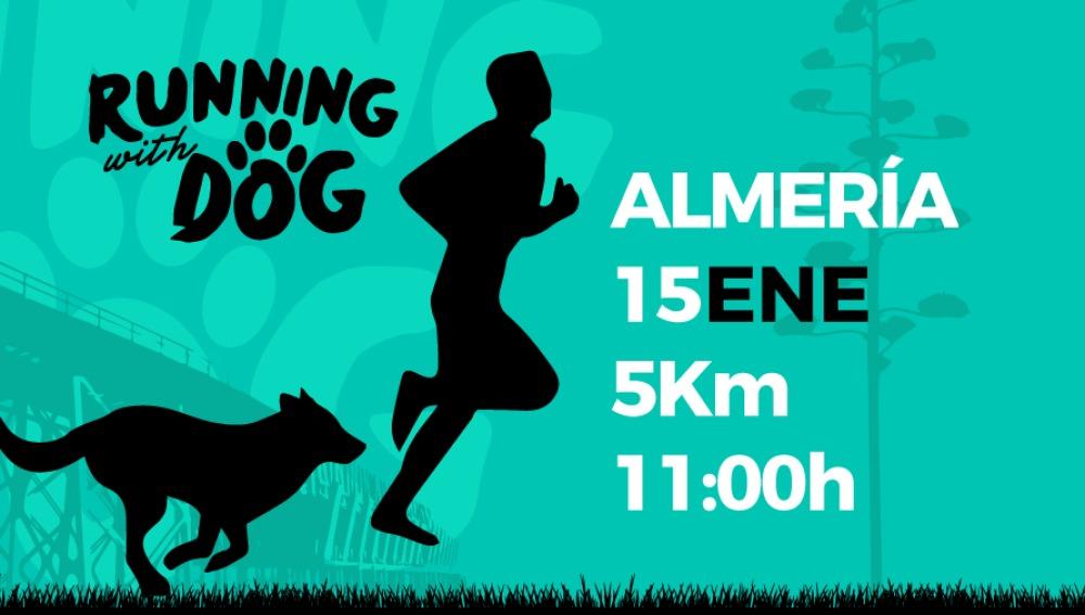 'Running with Dog', una carrera solidaria en la que los perros son los protagonistas