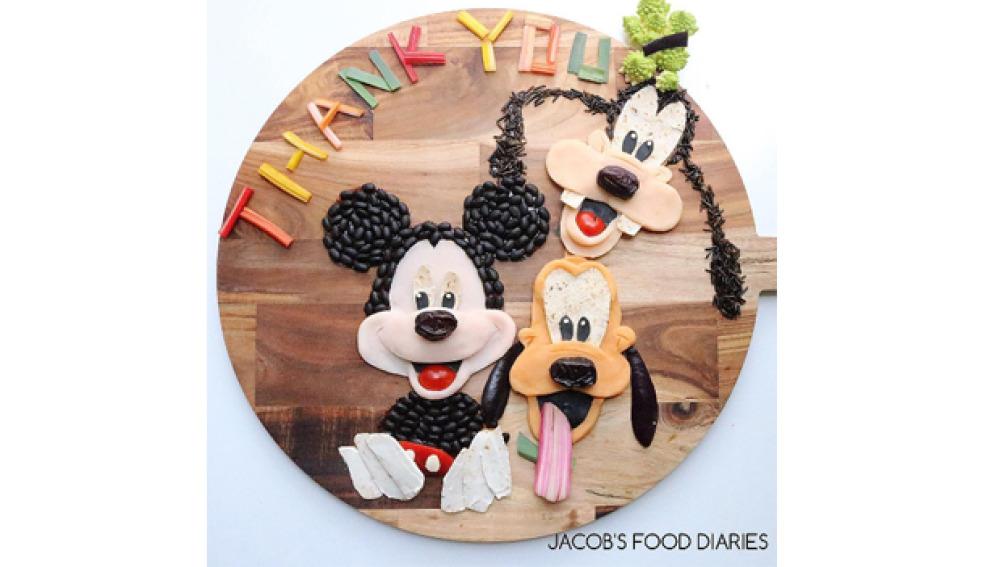 Mickey, Goofy y Pluto