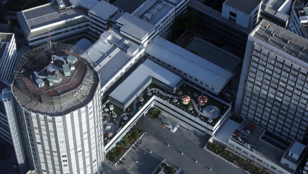Vista general del Hospital La Paz