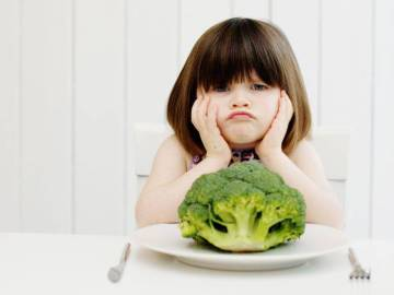 Cinco trucos para una buena alimentación en niños inapetentes
