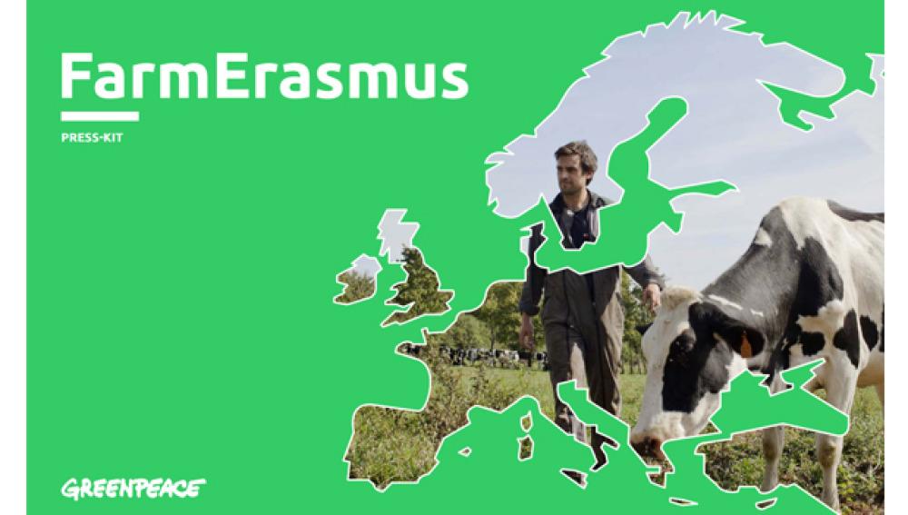 Greenpeace crea un Erasmus para granjeros que fomenta la agricultura ecológica