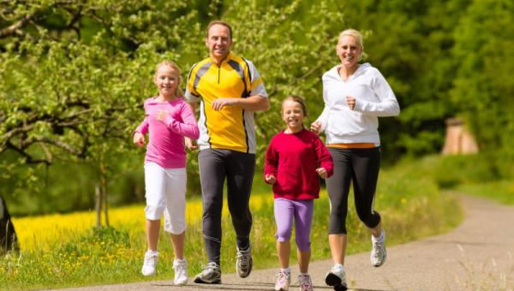 Los niños pueden practicar 'running' a partir de los 5 años