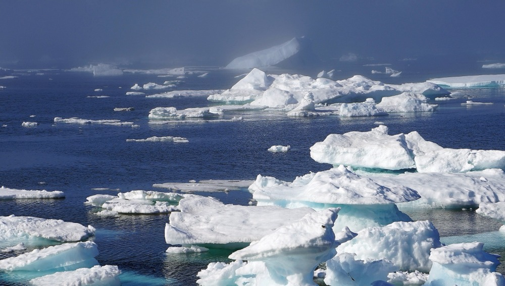 La capa de hielo del Ártico y el Antártico presenta la mayor reducción en 38 años