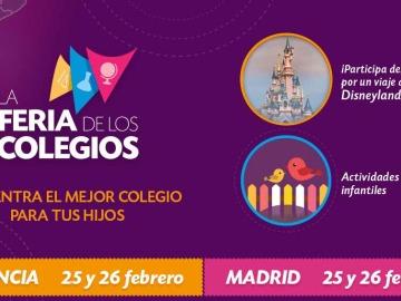 Feria de los Colegios en Madrid y Valencia
