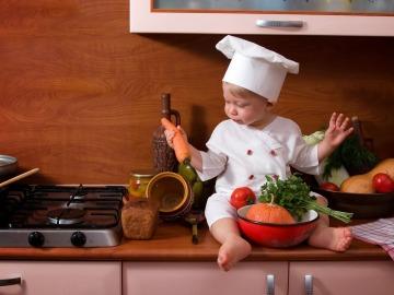 La comida casera mejora el gusto y la salud física de los bebés