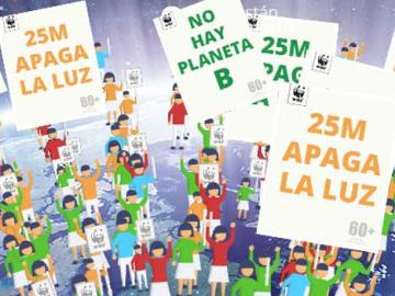 WWF convoca las movilizaciones para la Hora del Planeta