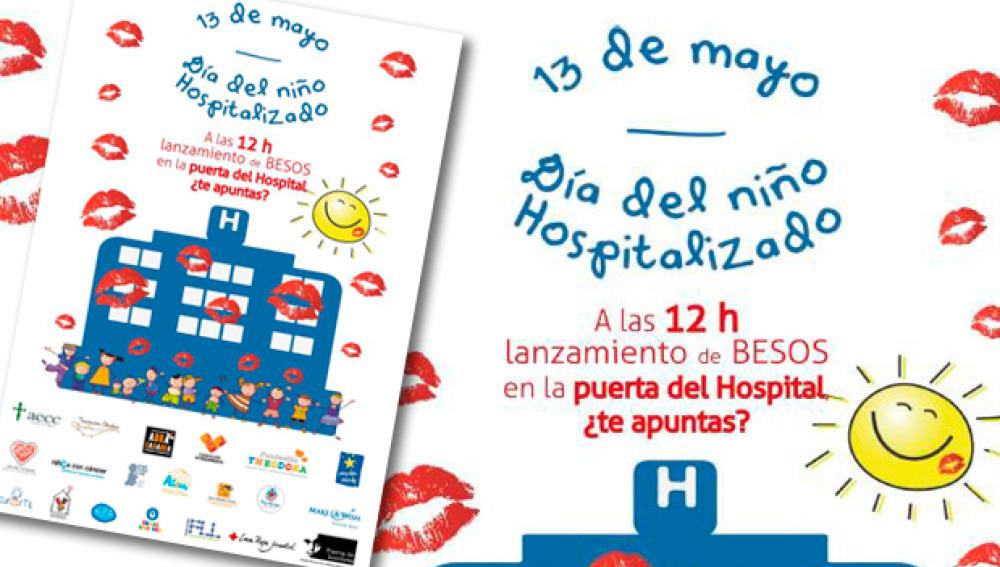 Miles de besos para celebrar el 'Día del Niño Hospitalizado'