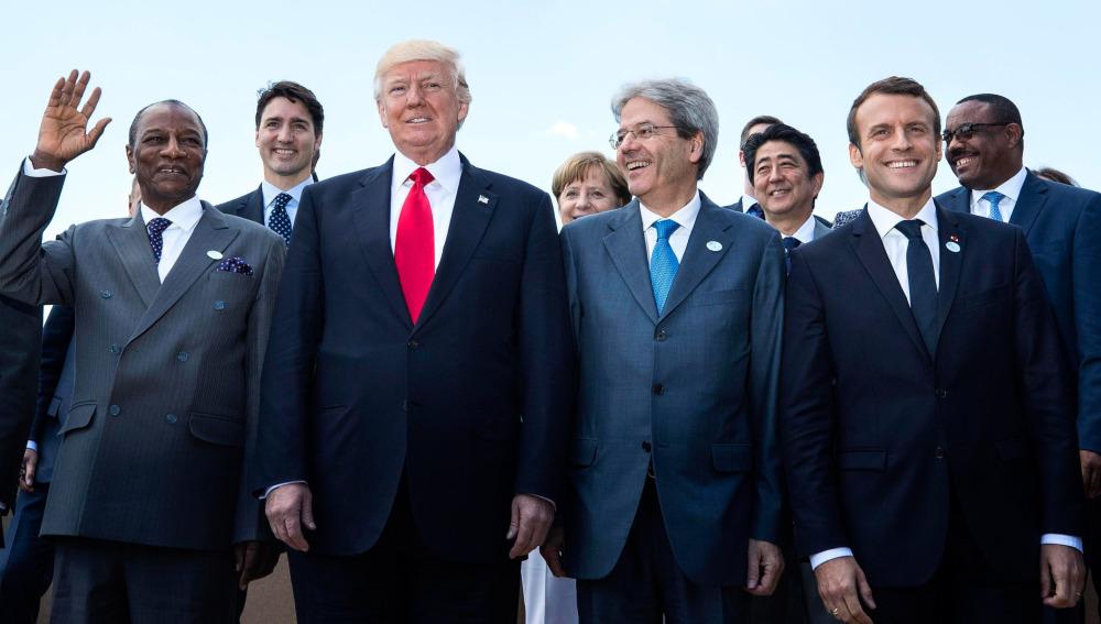 """Estados Unidos frena el acuerdo sobre el cambio climático en el G7 porque """"está revisando su postura sobre la materia"""""""