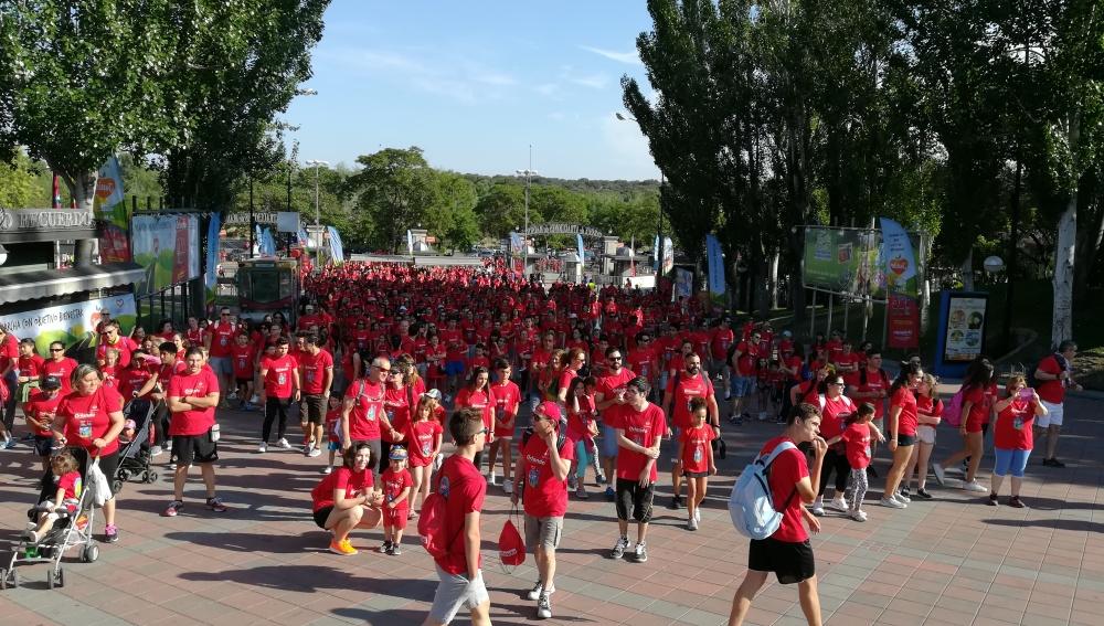 Sexta edición de 'La Marcha con Objetivo Bienestar Junior'