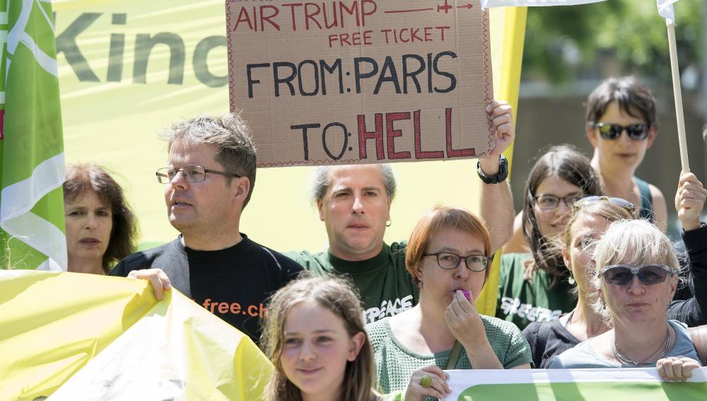 Seis de cada diez estadounidenses se oponen al abandono de EEUU del Acuerdo de París