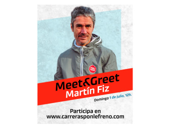 Meet&Greet con Martín Fiz
