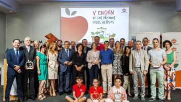 Atresmedia premia a los mejores 'Coles Activos' de España
