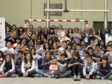 Objetivo Bienestar Junior asiste a 'Tomando conciencia schools'