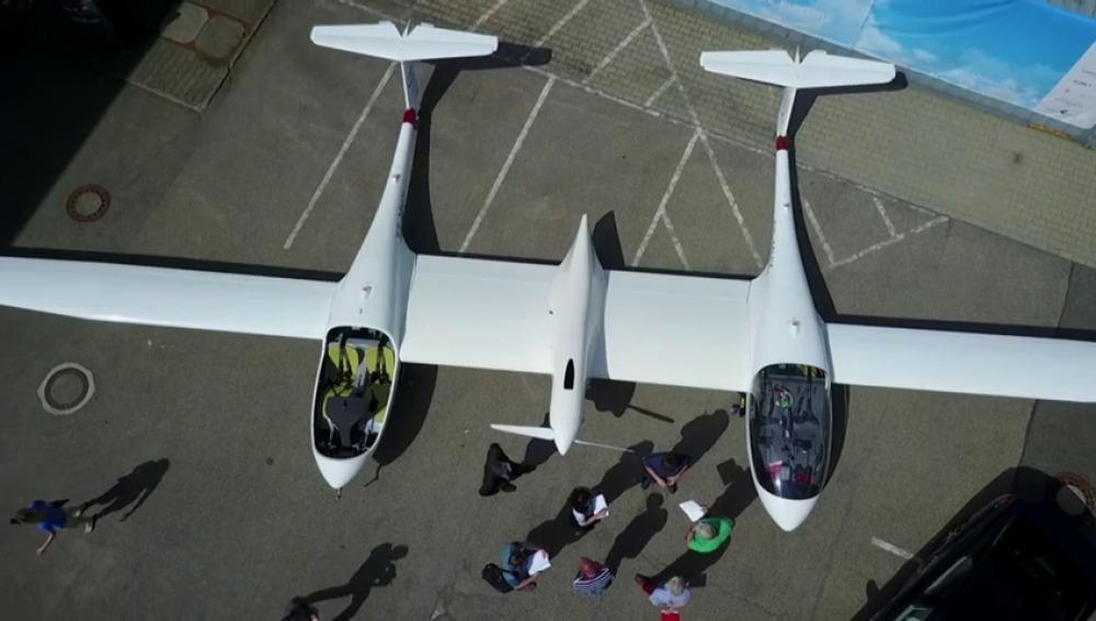 Nos subimos al primer avión de pasajeros propulsado con hidrógeno