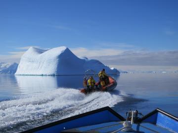 Calientan las aguas del Antartico un grado y se sorprenden del resultado