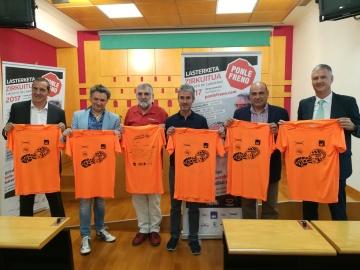 Presentación de la Carrera Ponle Freno en Vitoria