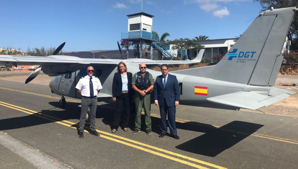 La DGT incorporará avionetas y drones para mejorar el control del tráfico