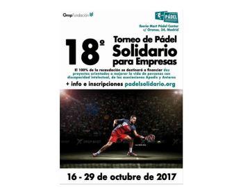 Torneo de pádel solidario para mejorar las condiciones de vida de   personas con discapacidad intelectual