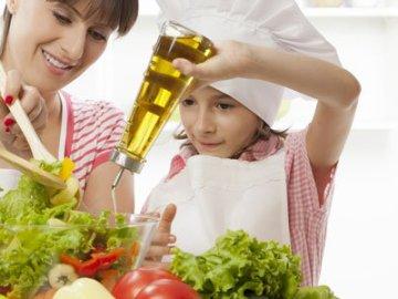 Niños y dieta mediterránea