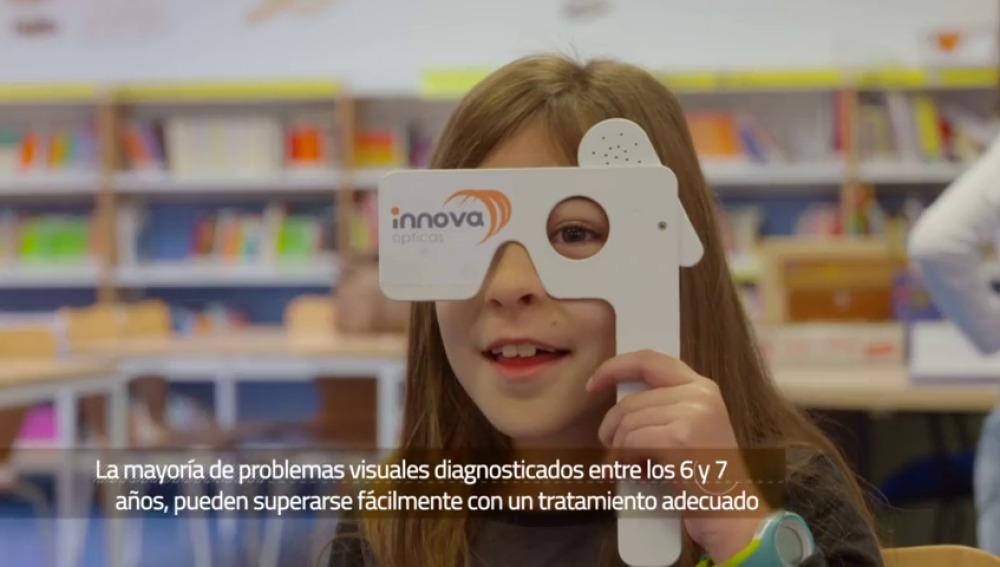 'Ver para Aprender', una iniciativa que promueve las revisiones oculares de los más pequeños