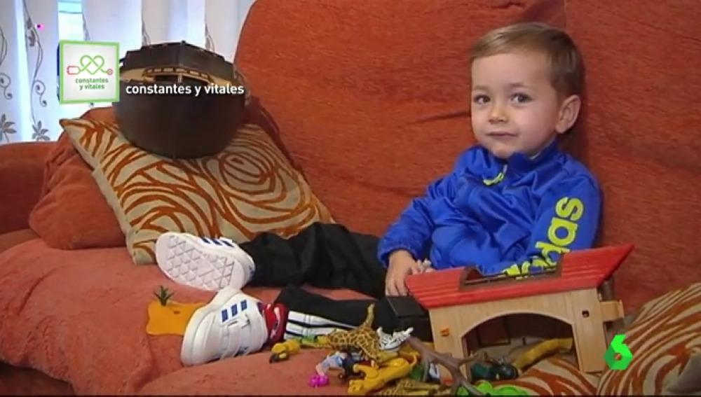 Un niño gallego logra frenar su atrofia muscular gracias a un fármaco