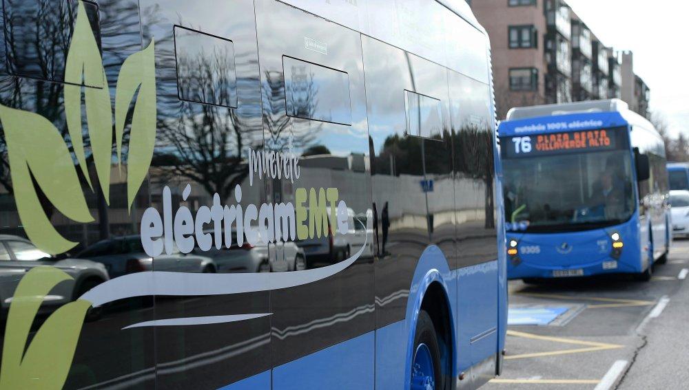Madrid contará con la primera línea de autobús 100% eléctrica