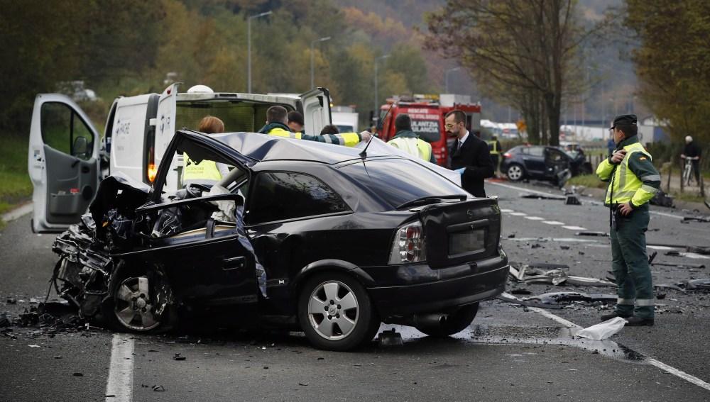 2017 finaliza con 1.200 fallecidos en las carreteras, 39 más que en 2016