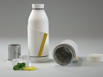 'Closca Bottle', una innovadora botella reutilizable que pretende acabar con el plástico
