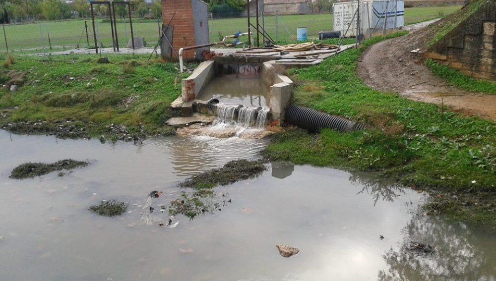 Vertidos de aguas residuales en Argamasilla de Calatrava