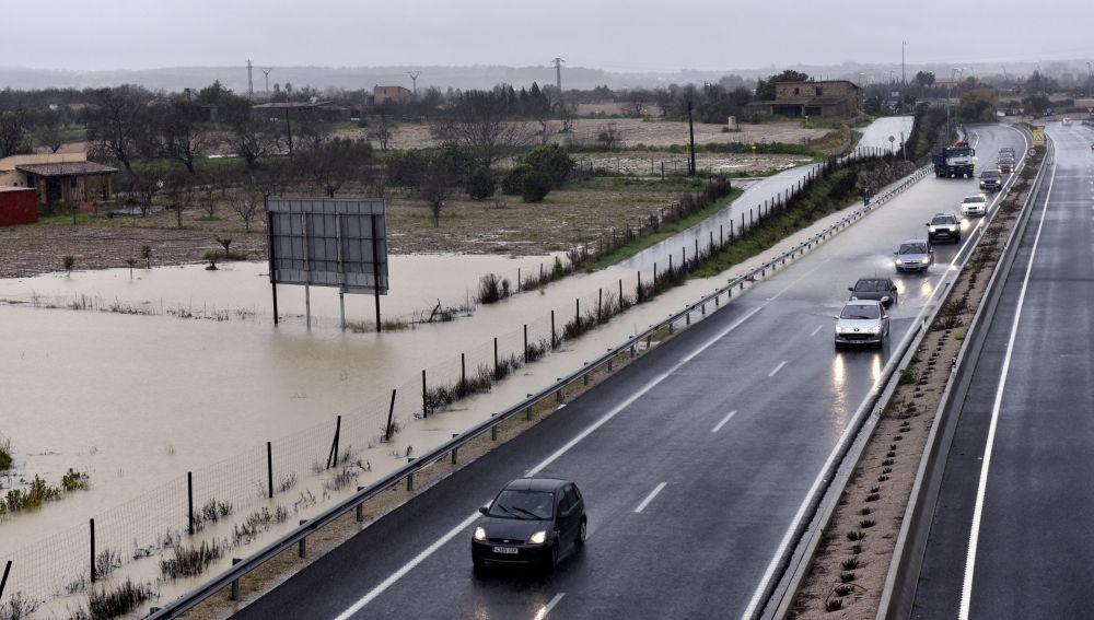 Imagen de la carretera MA-15, en la que se ha producido el accidente.