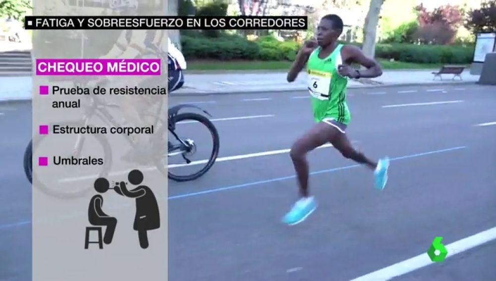 El 59% de los corredores aficionados no se realiza un chequeo médico antes de participar en una carrera