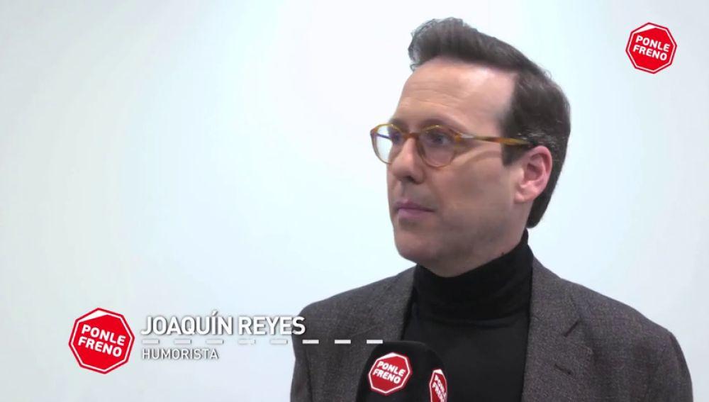 """Joaquín Reyes tiene un consejo para los conductores: """"No estéis 'enjugascaos' con el móvil"""""""