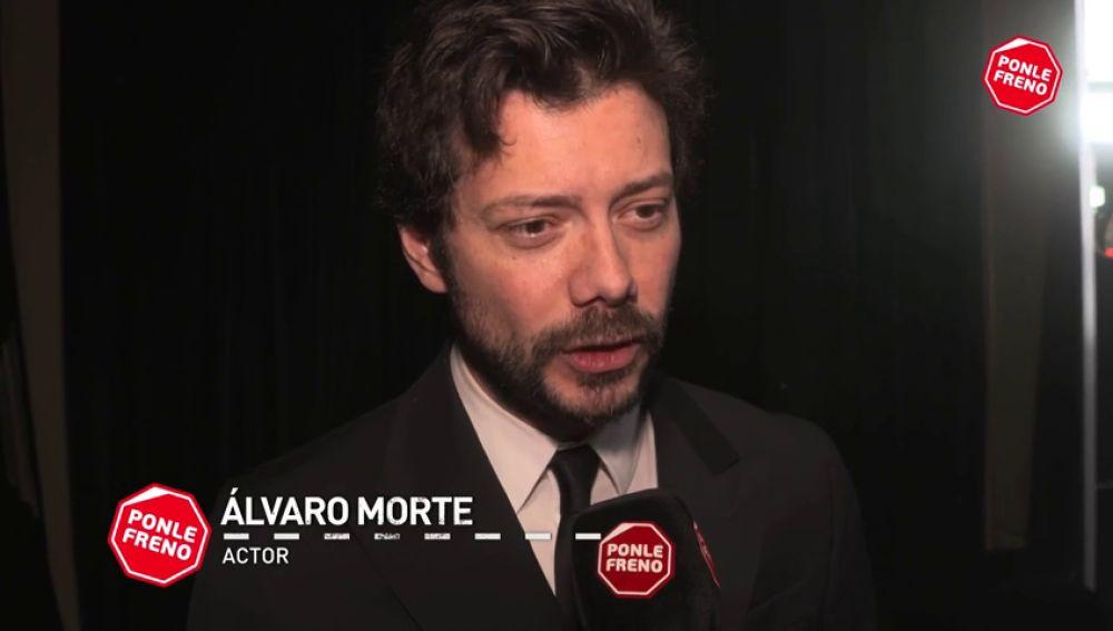 """Álvaro Morte: """"Se ha conseguido que todos aceptemos ponernos el cinturón de seguridad"""""""