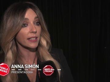 """Anna Simón: """" Cuando subo al coche lo primero que hago es ponerme el cinturón"""""""