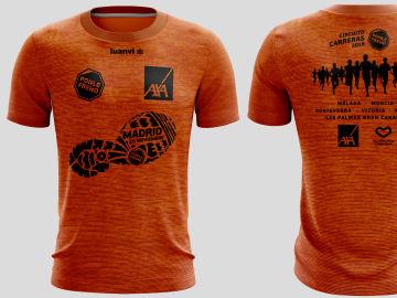Camiseta carreras Ponle Freno 2018 Madrid