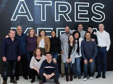 Atresmedia recibe el Premio STELA 2018 por su apuesta por la integración laboral de personas con discapacidad intelectual