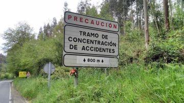 Ponle Freno coloca 17 ramos de flores en puntos negros, uno por cada CC. AA., en su lucha por reducir las víctimas por accidentes de tráfico