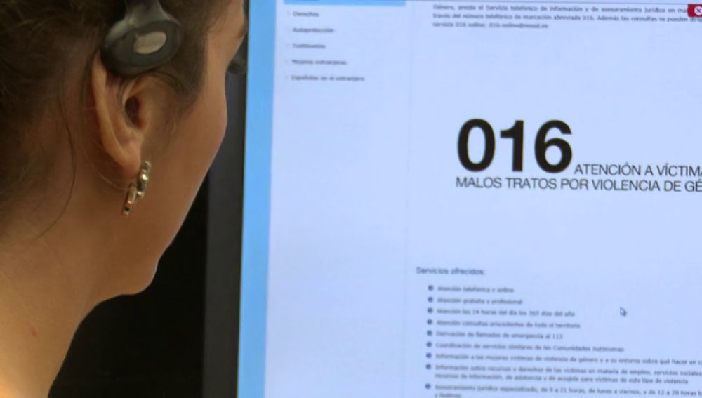 <p>016, el teléfono contra el maltrato podría desaparecer</p>