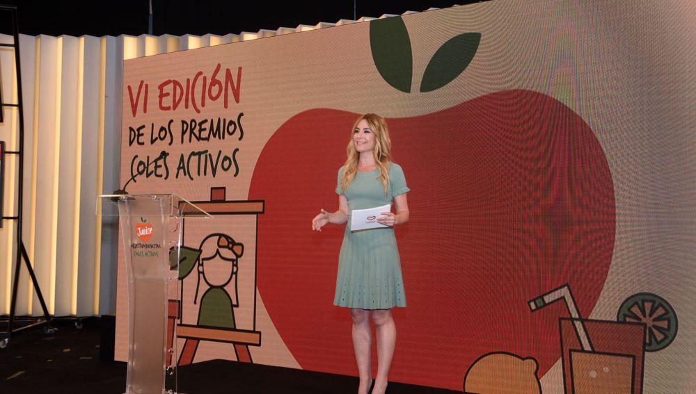 Ainhoa Arbizu, presentadora de la VI edición de Coles Activos